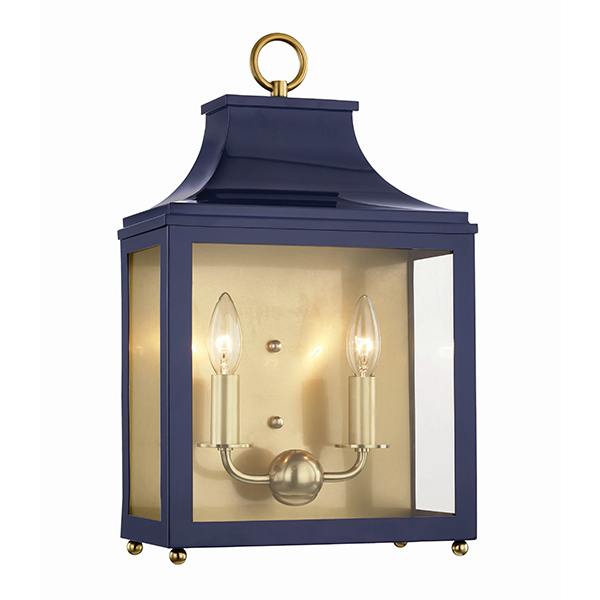 Leigh Wall Sconce by Mitzi by Hudson Valley Lighting.