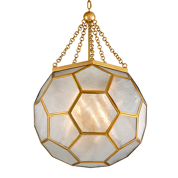 Hexsation Pendant by Martyn Lawrence Bullard for Corbett Lighting.