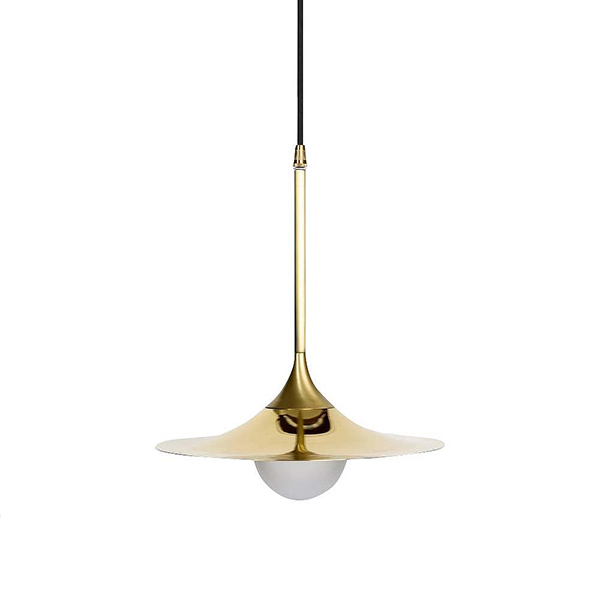 Solo Pendant with Disc by Intueri Light.