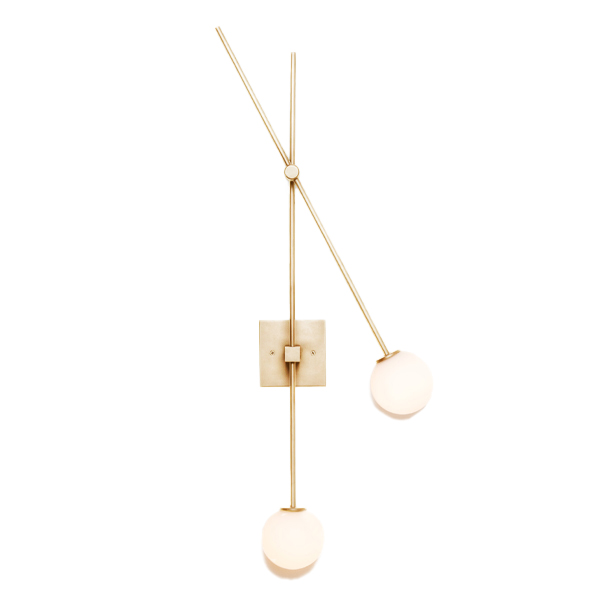 Tempo Wall Sconce by ATELIER de TROUPE.
