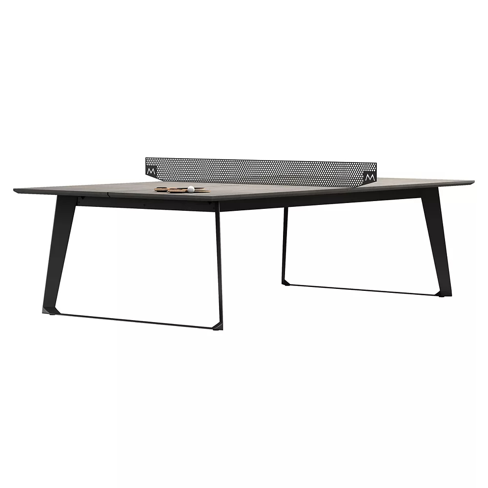 Amsterdam Outdoor Ping Pong Table by Modloft Black