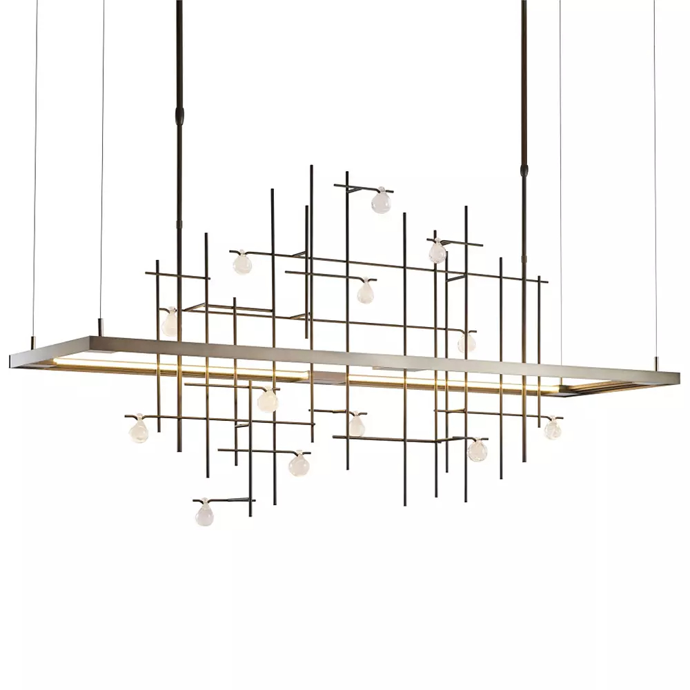 Spring LED Linear Suspension by Hubbardton Forge