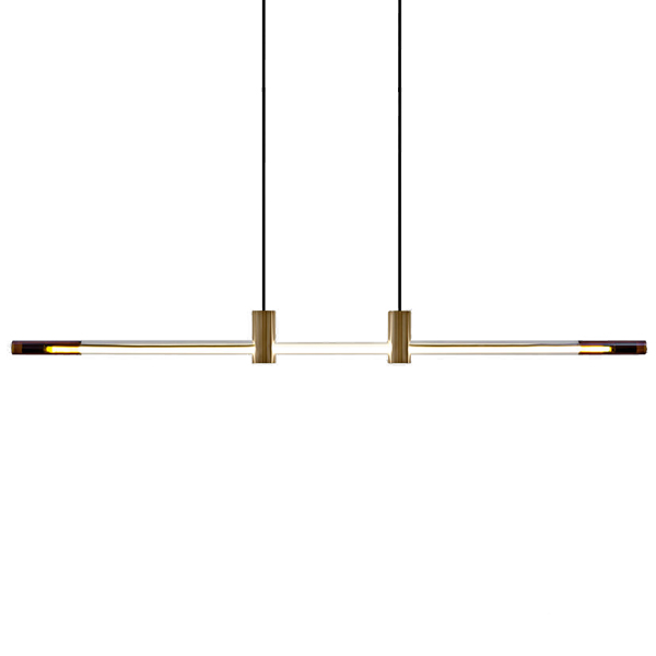 RA LED Line Linear Suspension by D'Armes.