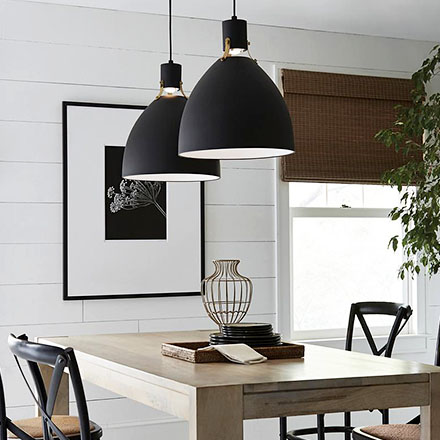 Pendant Lighting.