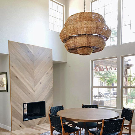 Natural Elements Ceiling Lights.