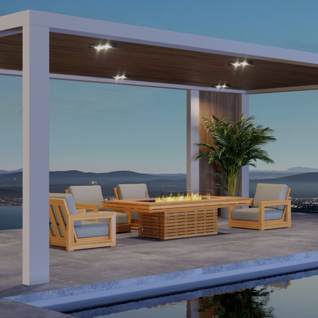 Playing with Fire: Game Tables & Fire Pits for Outdoor Living.